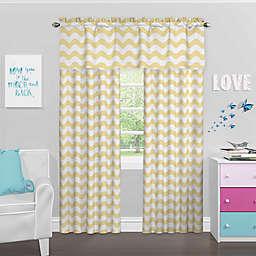 SolarShield® Kady Room Darkening Window Curtain Panel and Valance
