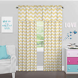 Eclipse Kady Room Darkening Window Curtain Panel and Valance