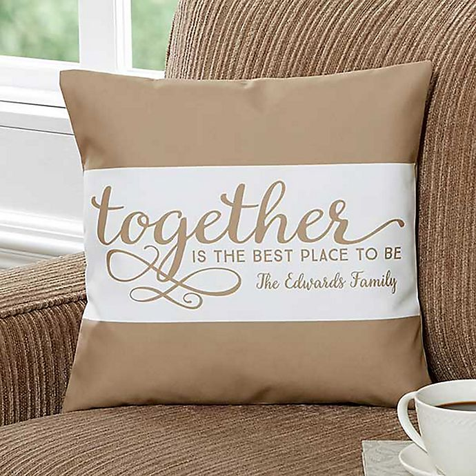 Prime Together 14 Inch Square Throw Pillow Machost Co Dining Chair Design Ideas Machostcouk