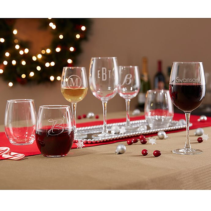 Alternate image 1 for Classic Celebrations Wine Glass Collection