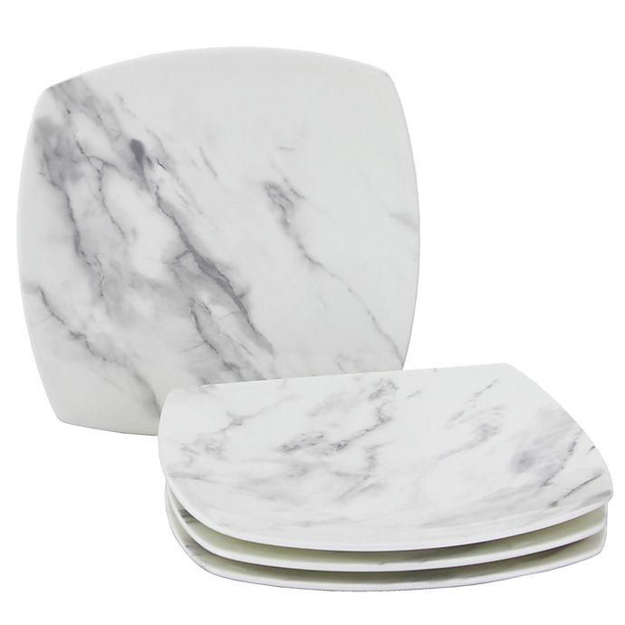 Alternate image 1 for Oneida® Moda Couture Square Salad Plates (Set of 4)