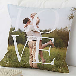 LOVE 18-Inch Square Throw Pillow