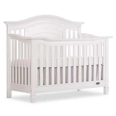 evolur™ Fairbanks 5-in-1 Convertible Crib in Winter White