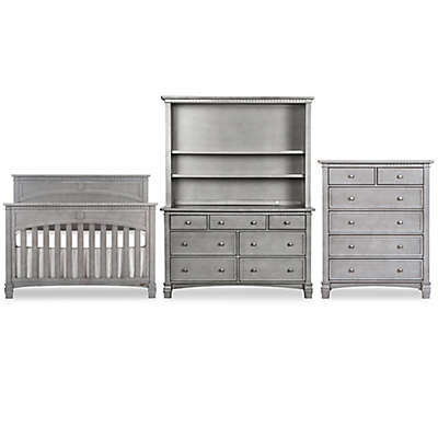 evolur™ Santa Fe Nursery Furniture Collection in Storm Grey
