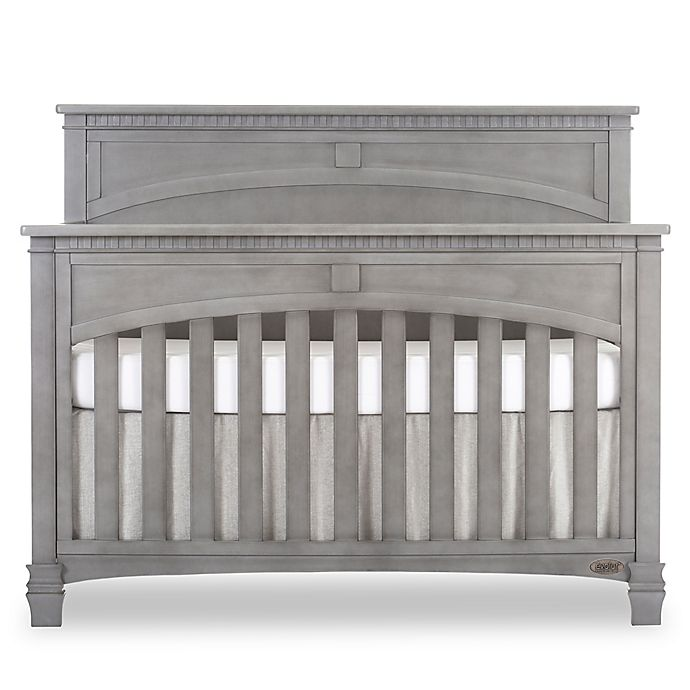Alternate image 1 for evolur™ Santa Fe 5-in-1 Convertible Crib in Storm Grey