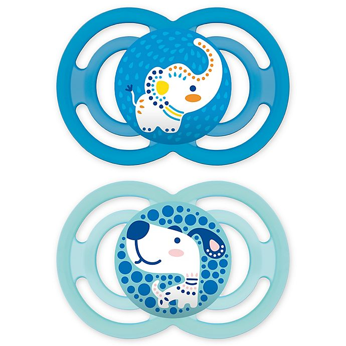 Alternate image 1 for MAM Perfect Orthodontic Size 6+ Months 2-Pack Pacifiers
