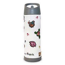 ZoLi Pip Toki 16 oz. Straw Water Bottle in White