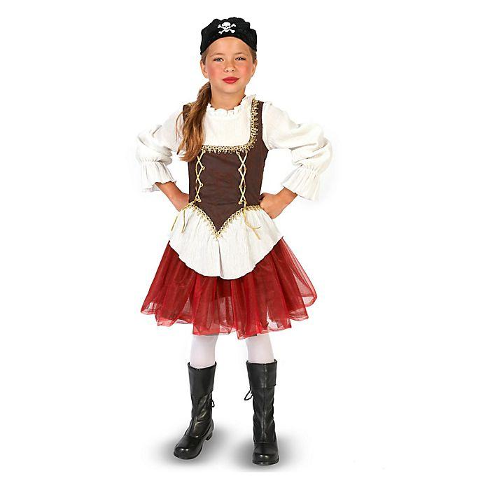 Alternate image 1 for Pirate Tutu Girl Child's Halloween Costume