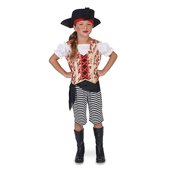 Alternate image 1 for Pirate Girl Child's Halloween Costume