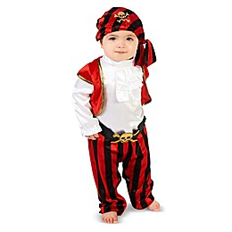 Pirate Captain Infant Halloween Costume