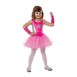 Spider Girl Child's Halloween Costume in Pink