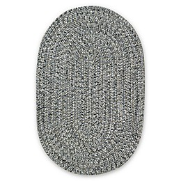 Capel Rugs Sea Pottery Oval Accent Rug in Smoke