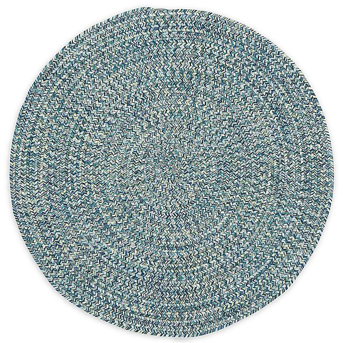 Alternate image 1 for Capel Rugs Sea Pottery 5-Foot 6-Inch Round Area Rug in Blue