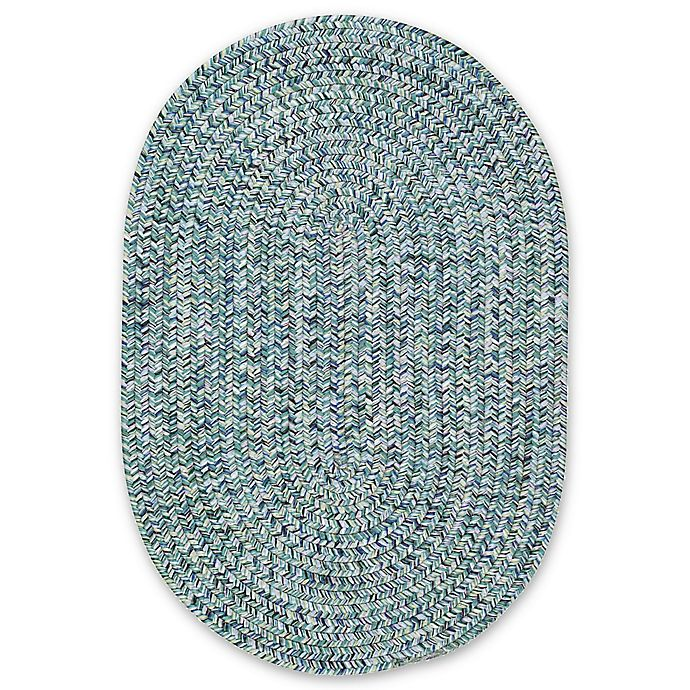 Alternate image 1 for Capel Rugs Sea Pottery Oval Rug in Blue
