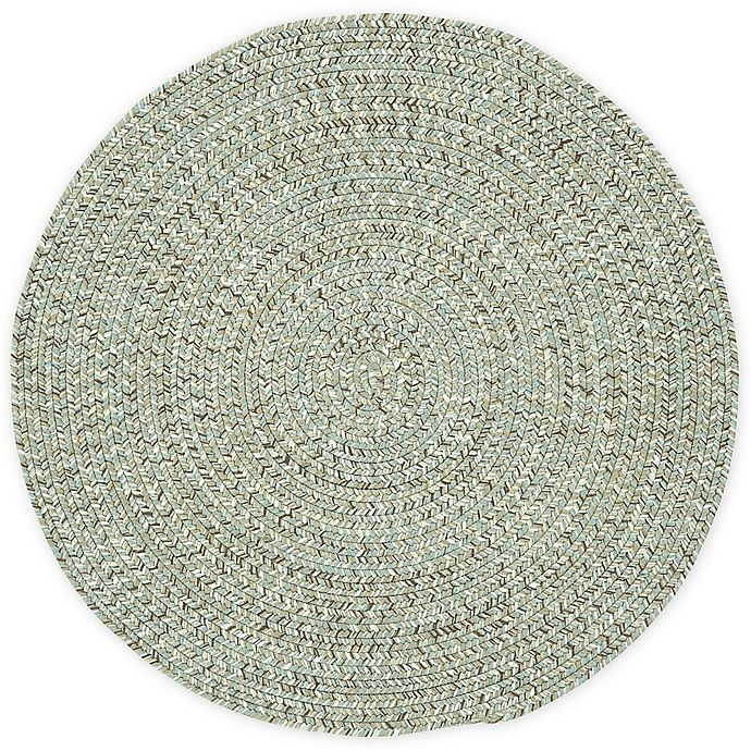 Alternate image 1 for Capel Rugs Sea Pottery Round Rug in Caribbean