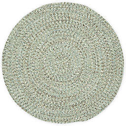 Capel Rugs Sea Pottery Round Rug in Caribbean
