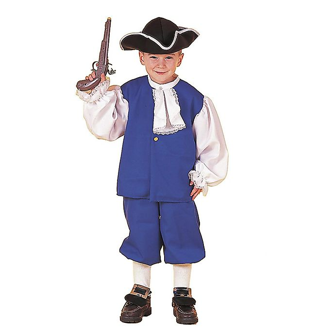 Alternate image 1 for Little Colonial Boy Child's Halloween Costume
