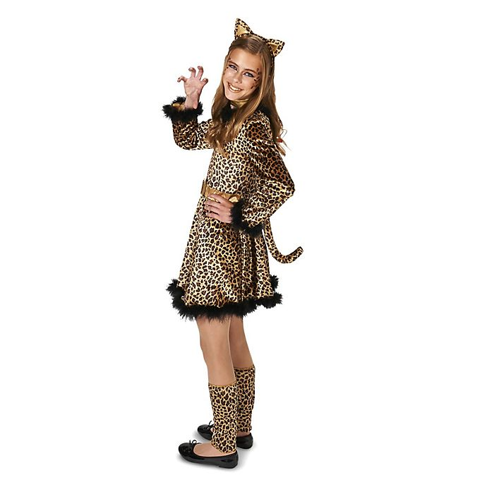 Alternate image 1 for Leopard Girl Teen Halloween Costume