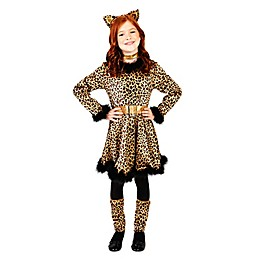 Leopard Dress Child's Halloween Costume