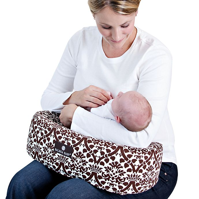 Balboa Baby 174 Nursing Pillow In Coco Bed Bath Amp Beyond