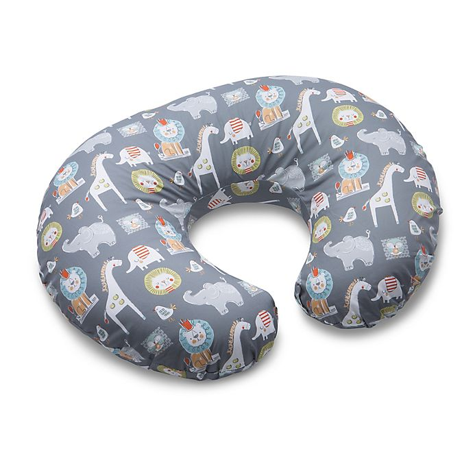 Alternate image 1 for Boppy® Sketch Slate Nursing Pillow and Positioner in Grey