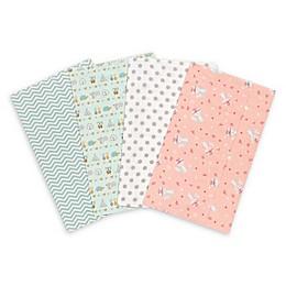Trend Lab® 4-Pack Wild Southwest Burp Cloth Set