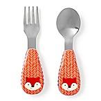 SKIP*HOP® Zootensils Fox Fork & Spoon