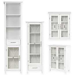 Elegant Home Fashions Lafayette Cabinet Collection in White