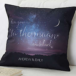 Written in the Stars 18-Inch Square Throw Pillow
