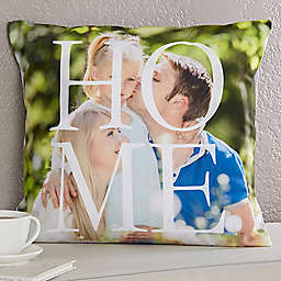 HOME 18-Inch Square Throw Pillow