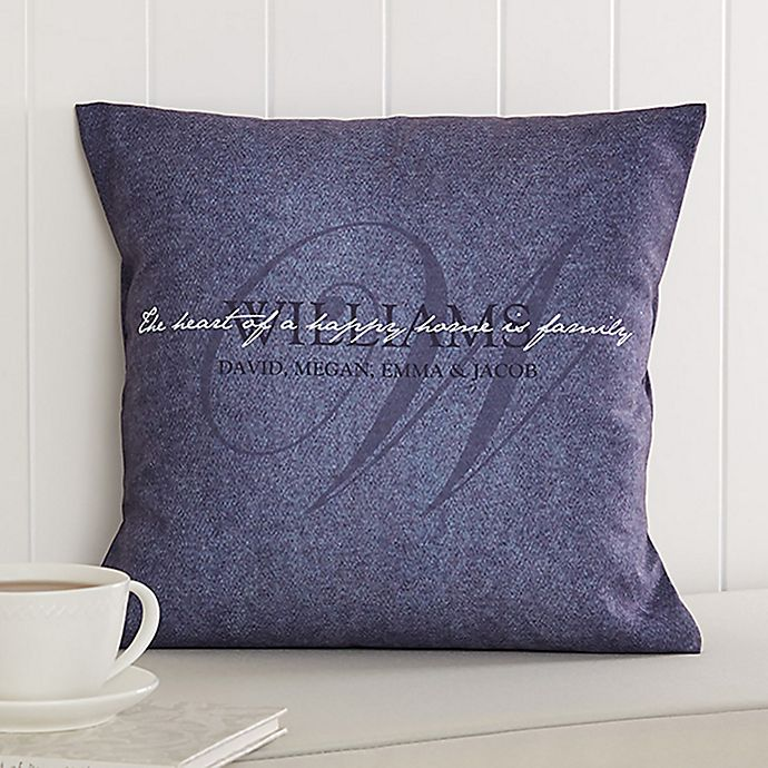Alternate image 1 for Heart of Our Home Throw Pillow