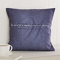 Heart of Our Home Throw Pillow