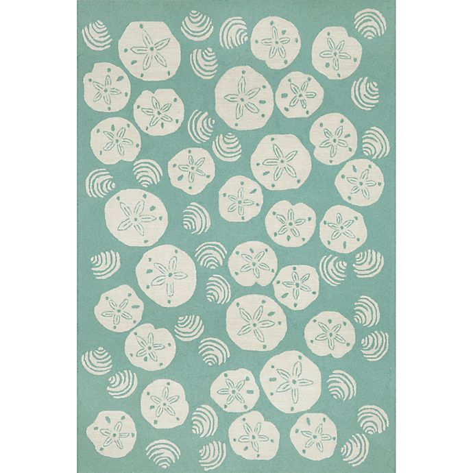 Alternate image 1 for Trans-Ocean Shell Toss Indoor/Outdoor Rug
