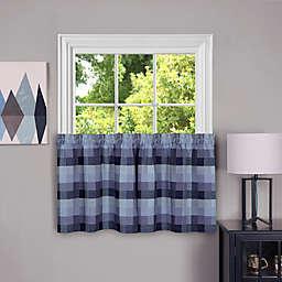 Achim Harvard Kitchen Window Curtain Tier Pair