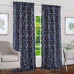 Achim Chloe Rod Pocket Window Curtain Panel