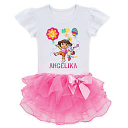 Dora the Explorer™ Birthday Balloons Tutu T-Shirt