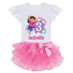 Dora and Friends™ Birthday Fun Girl Tutu T-Shirt