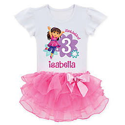 Dora and Friends™ Birthday Fun Girl Tutu T-Shirt