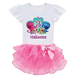Shimmer and Shine™ Birthday Wish Tutu T-Shirt