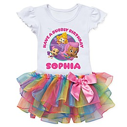 Bubble Guppies™ Birthday Rainbow Tutu T-Shirt