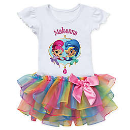 Shimmer and Shine™ Dazzling Duo Rainbow Tutu T-Shirt