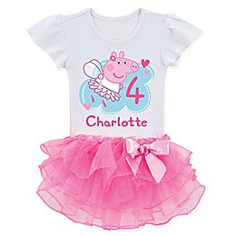 Peppa Pig™ Birthday Fairy Tutu T-Shirt