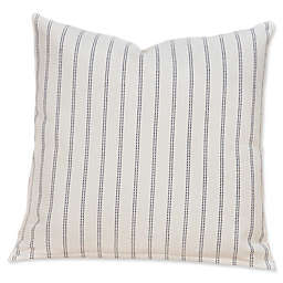 SIScovers® Striped Burlap Square Throw Pillow