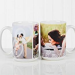 You & I 15 oz. Photo Coffee Mug in White