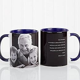 Photo Sentiments For Him 11 oz. Mug in Blue