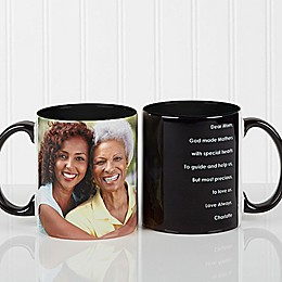 Photo Sentiments For Her 11 oz. Mug in Black