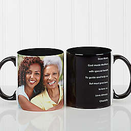Photo Sentiments For Her 11 oz. Mug in Black