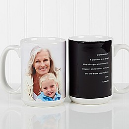 Photo Sentiments For Her 15 oz. Mug in White