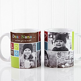 Photo Fun 11 oz. Coffee Mug in White