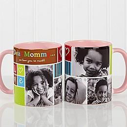 Photo Fun 11 oz. Coffee Mug in Pink